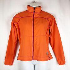 Eddie Bauer First Ascent Orange Jacket Women's Size XL Zippered Pockets