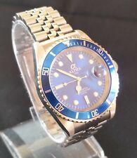 Alpha Diver Submariner Watch Blue Dial Sapphire Crystal Miyota jubilee Strap