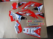 TEAM HONDA RACING GRAPHICS CR125 CR125R CR250 CR250R 2002 2003 2004 05 06 07 08