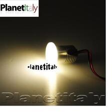 Faretto led punto luce calda segnapassi per uso interno 1 led vetro 220v 3w