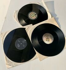 3 IRON MAIDEN Vinyl Album Record Lps VG+ No Sleeve Shoot The Focke
