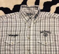 EUC>>Men's>>Shirt>>Wrangler>>Size L>>Long Sleeve>>Button Down>>Jack Daniel's