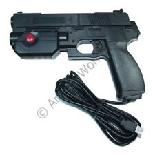 Ultimarc AimTrak Black Arcade Light Gun With Line Of Sight Aiming With Recoil