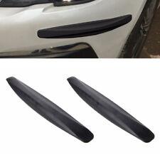 Car Truck SUV Bumper Protector Corner Lip Crash Bar Trim Rubber Guard Universal