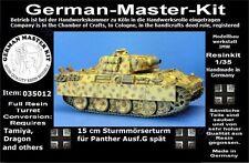 035012, Paper Panzer, 1:35, 15 cm Sturmmörserturm spät, GMKT World of War II