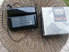 TELEFONO SIRIO COLOR SIP NERO FUNZIONANTE