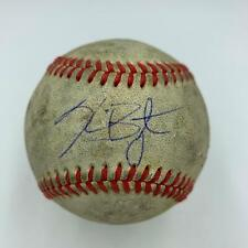 2013 Kris Bryant Pre Rookie Signed Game Used Minor League Baseball JSA COA