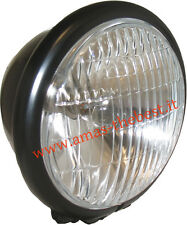 Faro supplementare nero 12v-35/35w modifiche cafe racer AM.2675.N