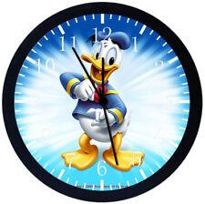 Disney Donald Duck Black Frame Wall Clock E118