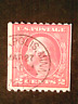 U S stamps Scott 449 two cent Washington coil used cv 650.00