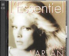 2 CD COMPIL 48 TITRES--SYLVIE VARTAN--L'ESSENTIEL DE SYLVIE VARTAN