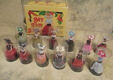 Vintage My Fair Lady Miniature Dolls Lot of (12) Dolls With Box 1970s Rare