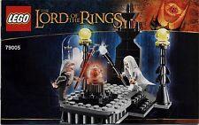 Lego The Hobbit ... # 79005 The Wizard Battle - Bauanleitung (keine Steine!)