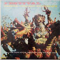 Festival Chicago Symphony Orchestra Reiner Vinyl Record 1960 LP VG+ LM-2423