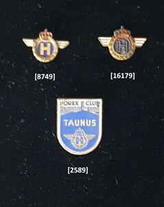 HOREX (Motorrad) Abzeichen historische Anstecknadeln stick pins AUSSUCHEN