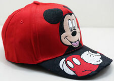 Cute Embroidered Mickey Mouse Kids Boys Girls Adjustable Baseball Hat Ball Cap