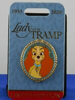 Disney LADY AND THE TRAMP 65th Anniversary Cameo Portrait LE 4000 Trading Pin