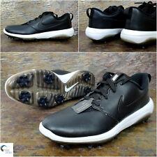 NIKE ROSHE G Tour Men's GOLF Shoe - Black / White - Size Uk 11 Eu 46 AR5580-011