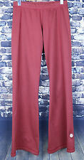 Lululemon Maroon Athletic Pants Size 4 XS Premium Logo Style Hip Hug Yoga Fit