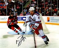 Michael Del Zoto autographed signed NHL New York Rangers 8x10 photo