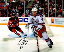Michael Del Zotto autographed signed NHL New York Rangers 8x10 photo