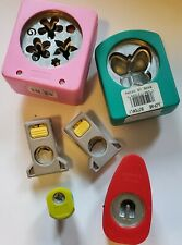 LOT of 6 Decorative Scrapbooking Paper Cutting Punches Punch Crafts No Reserve!