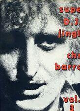 CHRIS BARROW super D.J.  jingles VOL 3 - 12INCH 45 RPM BELGIUM EX