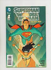 Superman Wonder Woman #1 - New 52! 1:25 Variant Cover - (Grade 9.2) 2013