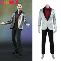 Batman Suicide Squad Joker Cosplay Costume Halloween Outfit Full Set Cosonsen