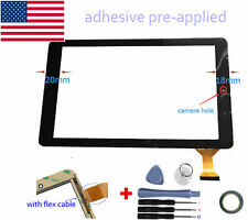 "New Digitizer Touch Screen for RCA Viking Pro 10 RCT6603W47SK 10.1"" Inch Tablet"