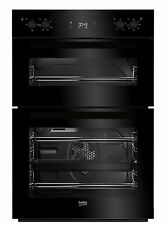 Beko BDF22300B Integrated Double Oven in Black