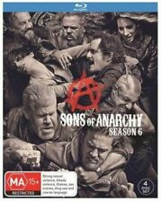 Sons of Anarchy Season 6 4disc Blu-ray