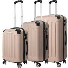 Kesser 3tlg Reisekoffer set Trolley Hartschale Hartschalenkoffer Koffer M-l -xl