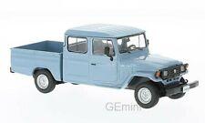 1/43 WhiteBox (WHT255) Toyota land Cruiser Bandeirante pick up bleu