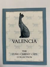Franklin Mint Curio Cabinet Cat Collection-Valencia Cat Booklet Only