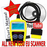Fits JAGUAR CAR FAULT CODE READER ENGINE SCANNER DIAGNOSTIC RESET OBD 2 CAN BUS