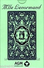 Tarot Cards Mlle Lenormand Blue Owl Oracle 36 cards instruction Taro TC45
