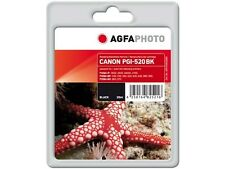 AGFA PHOTO PGI-520BK NERO per PIXMA IP 4600 4700 Mp 540 640 980 x