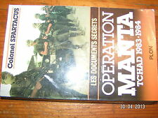 !* Operation Manta Tchad 1983-1984 Colonel Spartacus