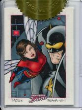 Marvel Dangerous Divas Incentive Sketch Card By Tony Perna - Wasp