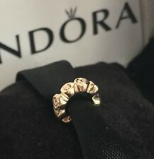 AUTHENTIC PANDORA TINY ROSES SPACER SOLID GOLD 585 ALE PANDORA CHARM RETIRED