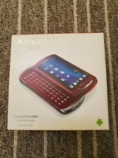 Sony Ericsson Xperia Pro MK16i Smartphone RED - QWERTY Keyboard - Unlocked (All)