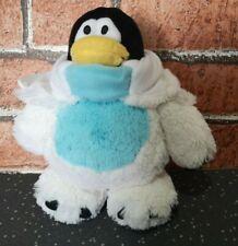 Disney Club Penguin Snowman Squad Quality Plush Soft Toy JAKKS Pacific 20cm