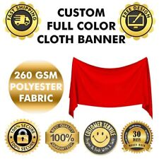 Polyester Fabric cloth poster flag Banner 5 x 5 Feet Polestar Outdoor and indoor