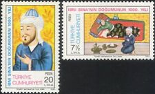 Turkey 1980 Avicenna/Physician/Medical/Health/Scholar/Science/People 2v (n45593)