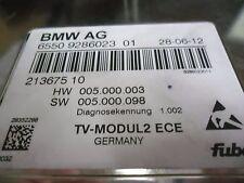BMW-E60-E66-E90-E93-E70-E71-E89-STGT-TV-MODUL2  ECE/6550 9286023/9286023/