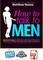 🔥 Matthew Hussey -🔥 How to talk to Men Hight Quality Get Fast ⏰⏰ Eb00k 👩❤️�