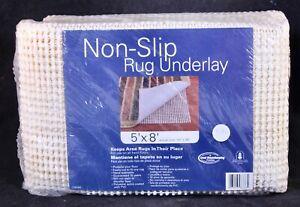 Good Housekeeping Non-slip Rug Underlay Fits 5ft x 8ft Cream