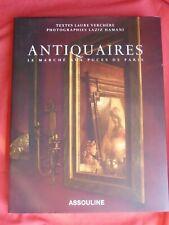 Antiquaires, le Marché aux Puces de Paris, Laure Verchère, L. Hamani, Assouline