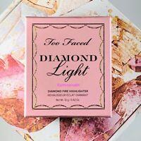 Too Faced Fancy Pink Diamonds Diamond Light Diamond Fire Highlighter New in Box